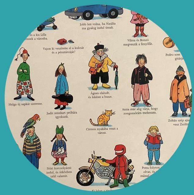 A téli böngésző szereplői